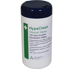 HypaClean Clinical Wipes