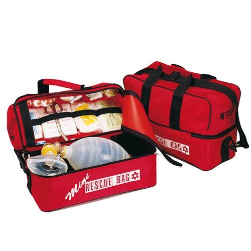 Compact Emergency Bag in Red