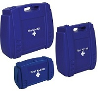 Blue First Aid Kit Case