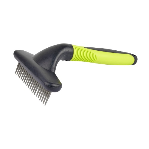 Grooming Comb with Rotating Teeth