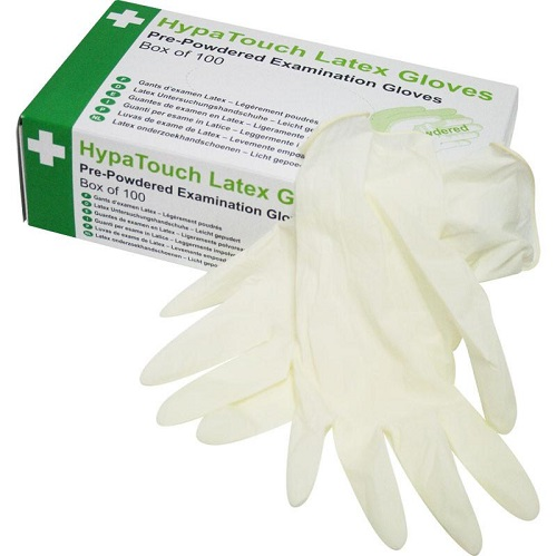 Disposable Medical Latex Gloves