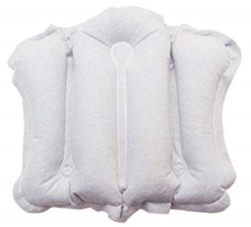 Bath Pillow - Inflatable Neck Support Cushion