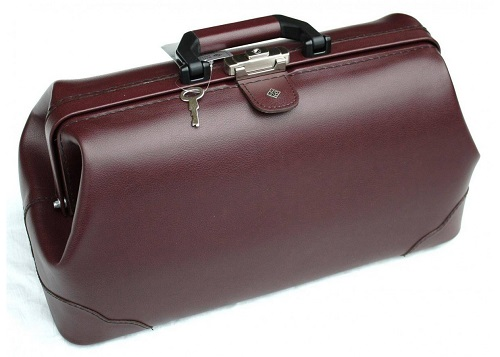 Practical and Economical Doctors Leather Bag