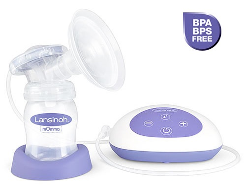Single Electric Breast Pump With Let-Down and Expression Phases