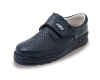 Unisex Nurses Shoes in Black Leather