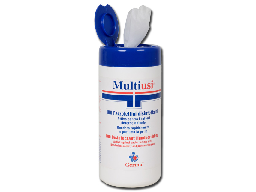 Multi-purpose Disinfecting Wipes Tube of 100