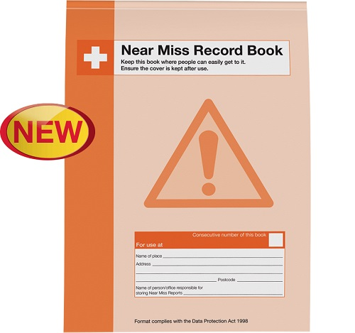 Near Miss Record Book A4