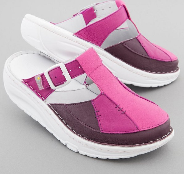 Womens Leather Nursing Shoes