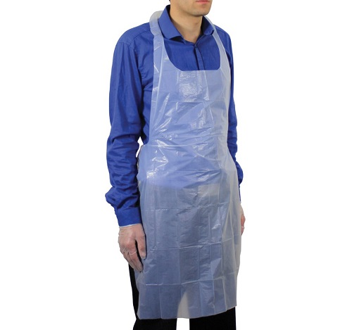 Polythene Aprons White