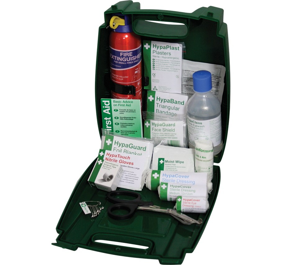 Off-Site Travel & Fire Extinguisher First Aid  Kit