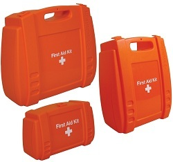 Orange  First Aid Kit Case