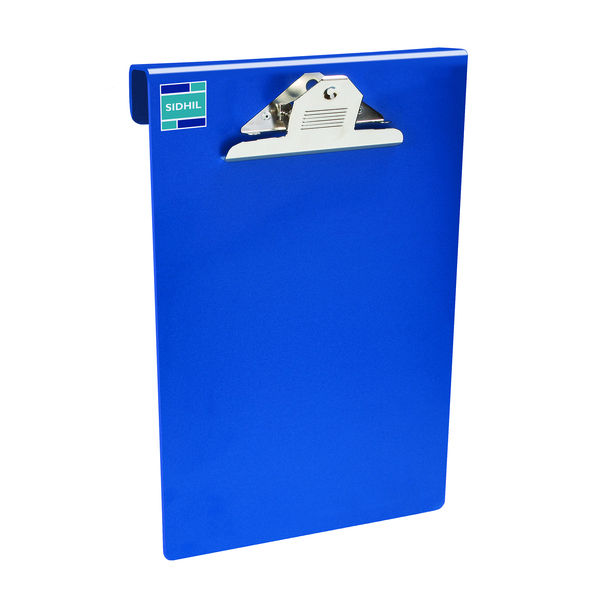 Patient Chartboard Holder A4 with Clip in Blue