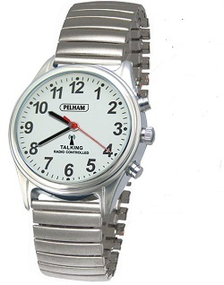 Mens Talking Watch With Expanding Strap