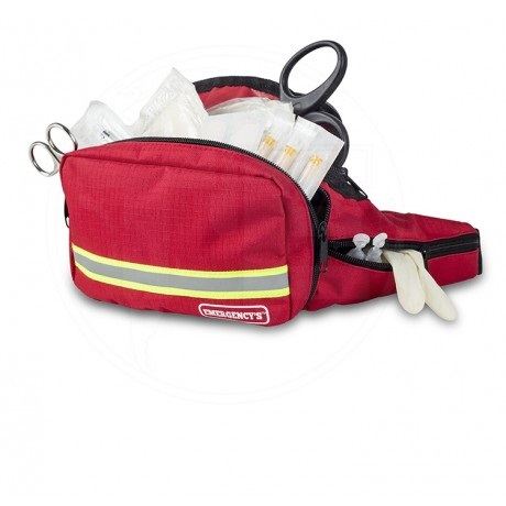 Waist First Aid Kit Bag in Red