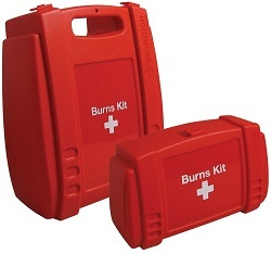 Red Burns Kit Case