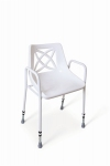 Stackable Utility Shower Chair