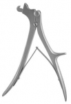 DeVilbiss Cranial Rongeur Forceps with 3 blades