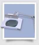 Desktop Illuminated Medical Magnifier With 3 Diopter Lens