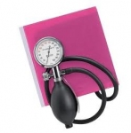 Timesco Sapphire Aneroid Sphygmomanometer with Pink Cuff