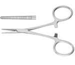 CARREL HARTMANN Artery Forceps Straight 8.5 cm