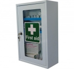 First Aid Cabinet with a Clear Door