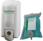 HypaClean Antibacterial Soap and  Dispenser