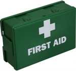 Empty Green First Aid Case