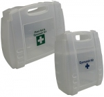 Clear First Aid Eyewash Cases