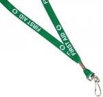 First Aid Green Lanyard
