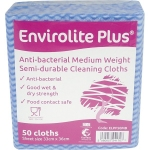 Anti-bacterial Cleaning Cloths 20 x 50 Box