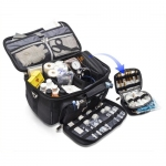 GP's Practical Medical Bag in Black