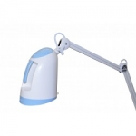 Patient Bed Lamp Blue With A White Arm