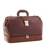Traditional styled Doctors bag designed and handmade in Italy