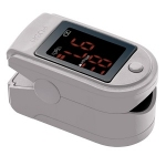 Fingertip Pulse Oximeter in Grey