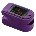 Fingertip Pulse Oximeter in Purple
