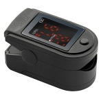 Fingertip Pulse Oximeter in Black