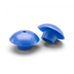 Welch Allyn Microtymp 3 Ear Tips 4 pcs Medium Blue