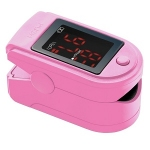 Fingertip Pulse Oximeter in Pink