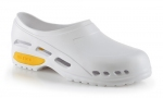 White  Medical Clog with Antistatic ESD Protection