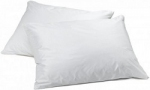 Incontinence Pillow Protector in White
