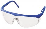 Full  Protective Eyewear  Colored Frame
