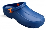 Washable Unisex Theatre Clogs in  Blue