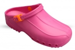Washable Unisex Theatre Clogs in Pink