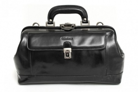 Classic Italian Leather Doctor Bag