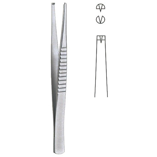 Treves Forceps  1x 2 Teeth