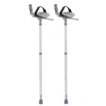 Lightweight Forearm Platform Crutches