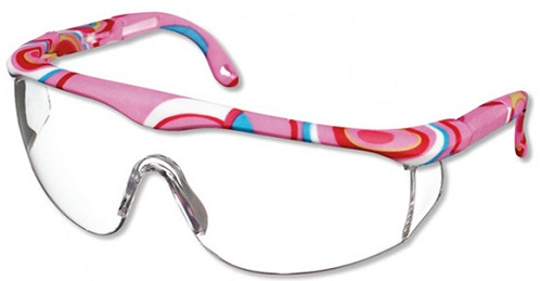 Full Frame Adjustable Medical or Dental Safety Eyewear