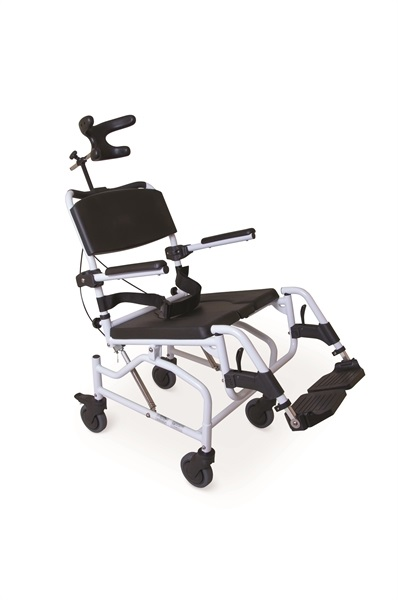 Toileting And Showering Chair with Neck Support